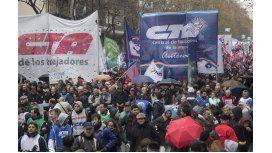 La Marcha Federal desembarca en la Plaza de Mayo contra del Gobierno