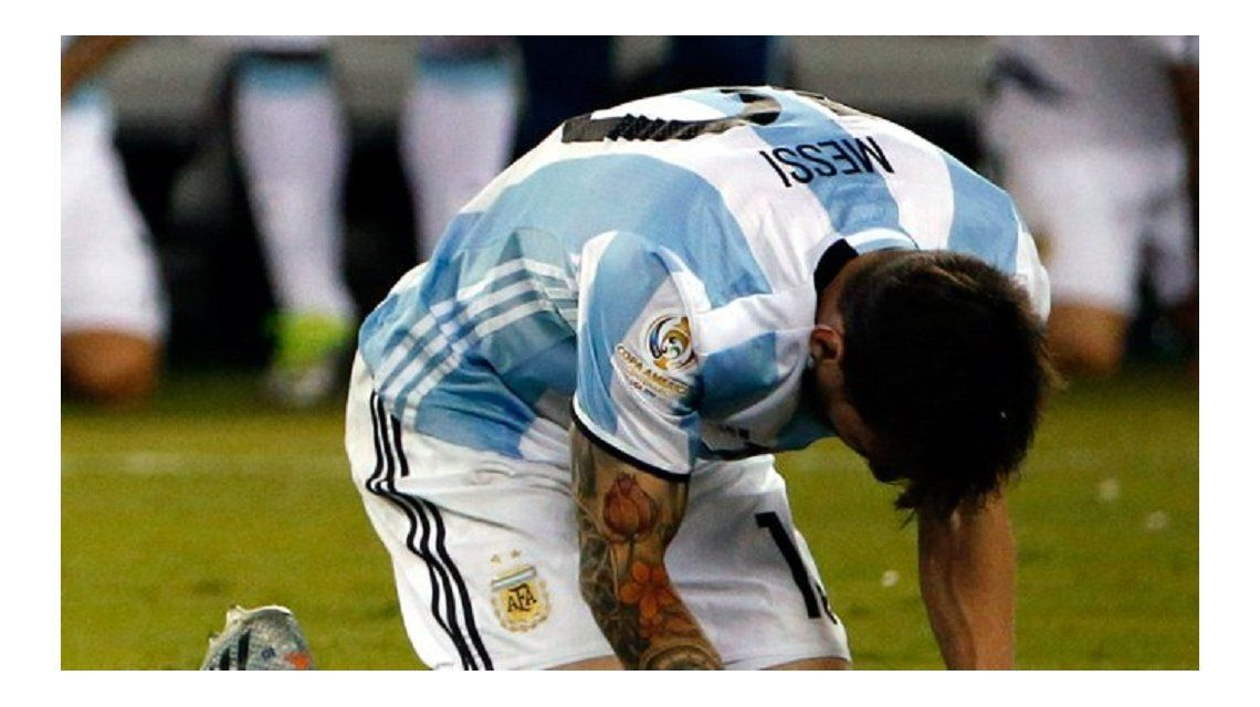 Messi, sobre su renuncia a la Selección: Estoy acostumbrado a que me den por cualquier cosa