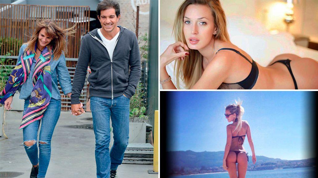 Los chats que demostrarían una nueva infidelidad de la pareja de Amalia Granata