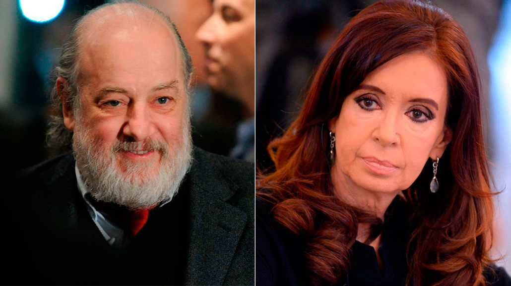 <p>Claudio Bonadio y Cristina Kirchner</p>