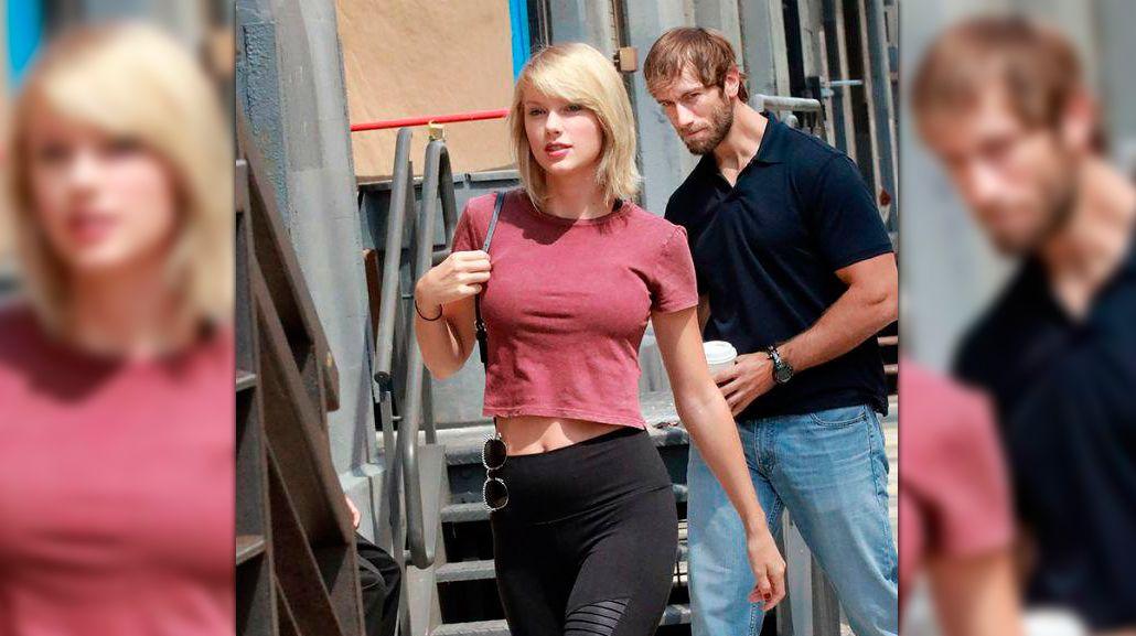 Miró a Taylor Swift en la calle y la foto se volvió meme