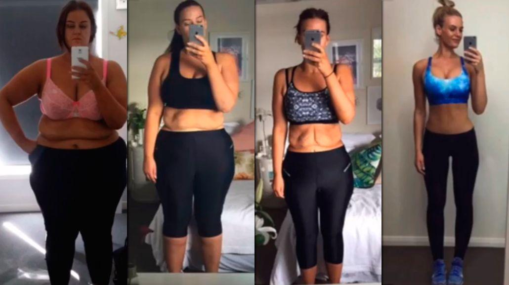 VIDEO: La historia de la mujer que perdió 100 kg en dos años