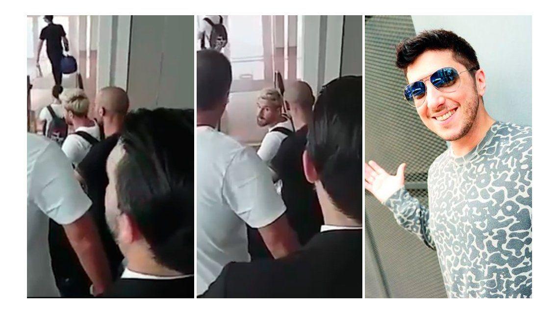 VIDEO: La reacción de Messi cuando Jey Mammon le gritó en el aeropuerto