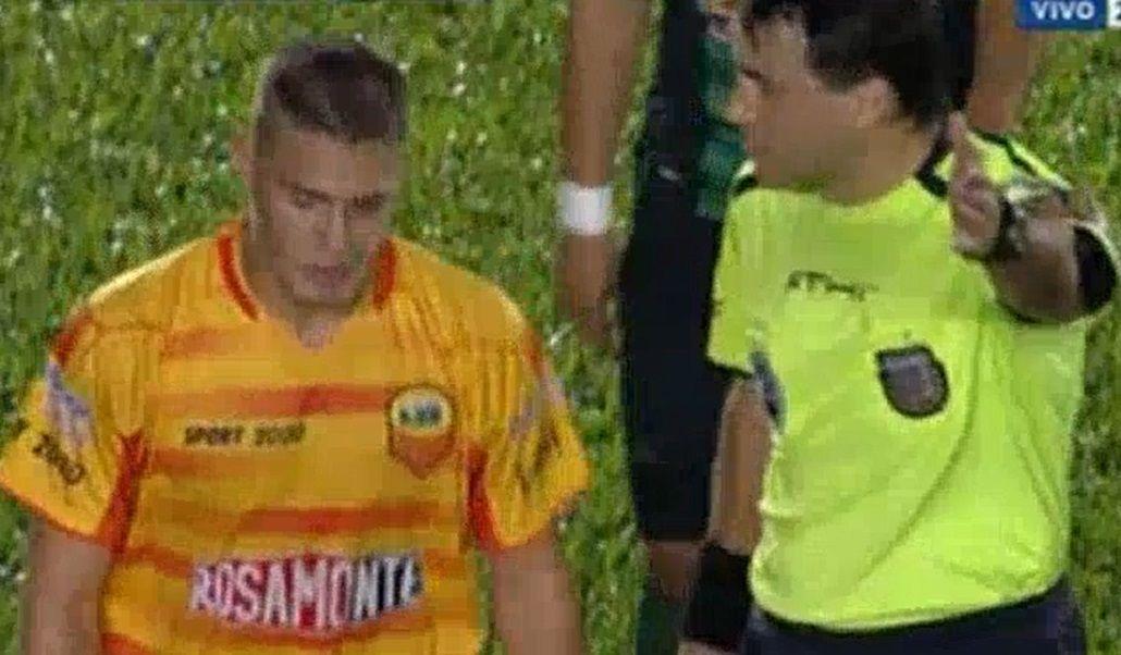 Hijo de Tigre: Stephan Ruggeri debutó en Primera...y lo echaron en el primer tiempo