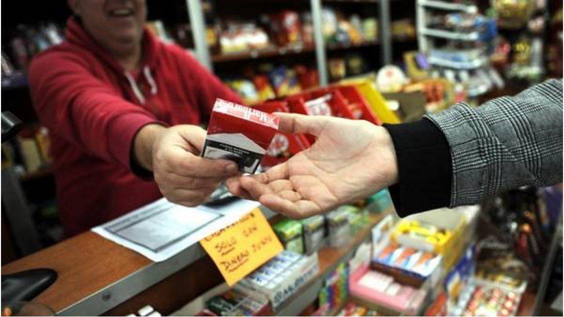 Cayeron un 25% las ventas de cigarrillos en kioscos y peligran los puestos de trabajo