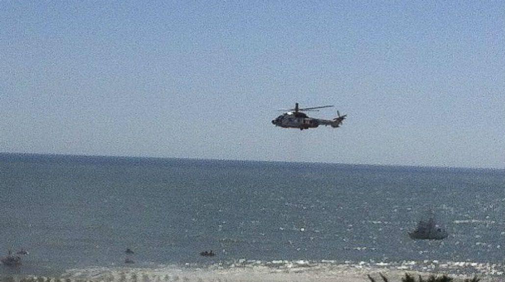 Naufragó un barco en Mar del Plata: hay tres muertos