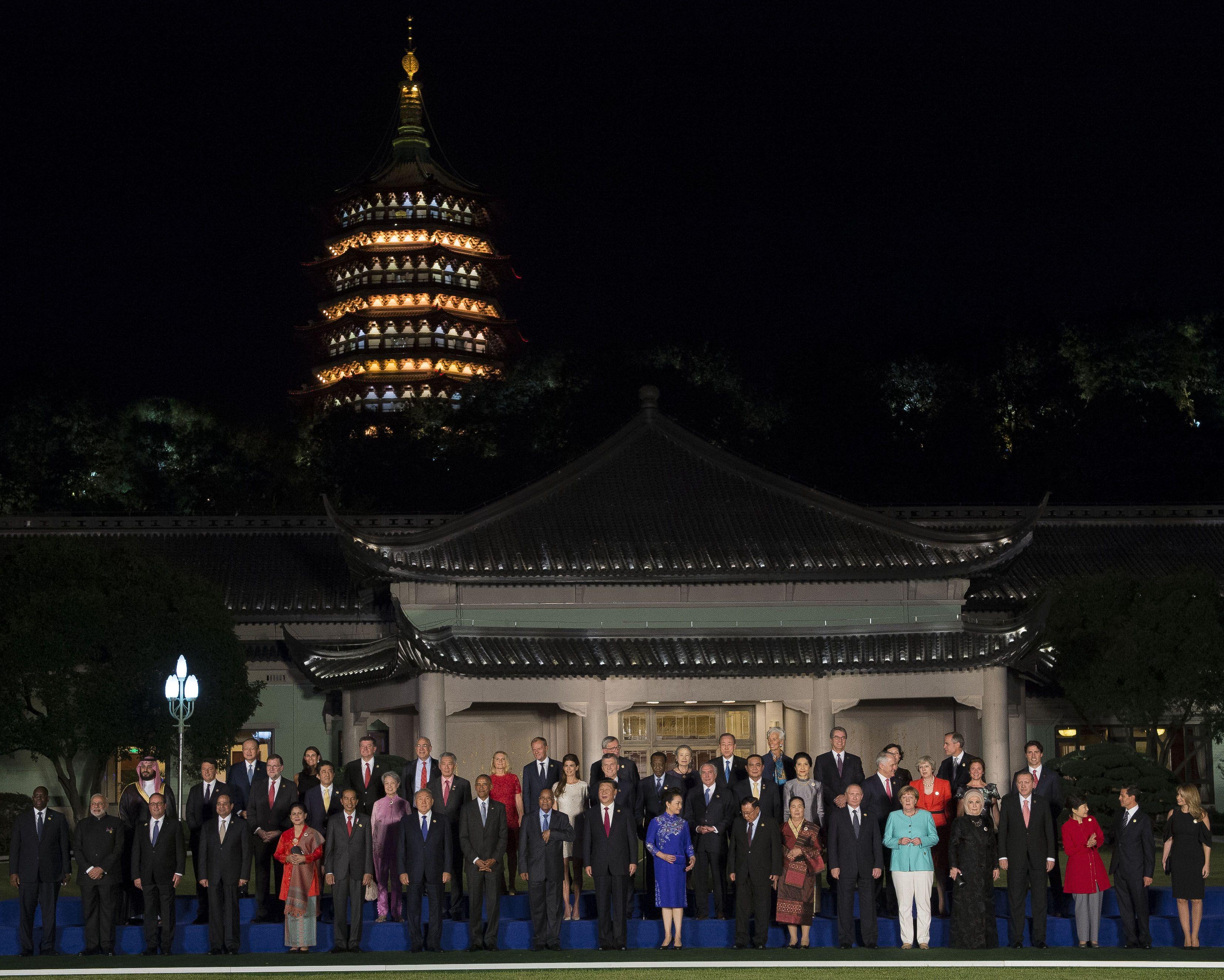 Macri participó de los actos de apertura de la cumbre del G-20