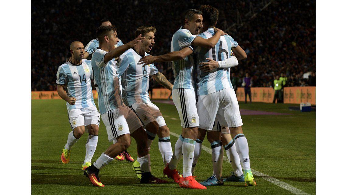 El triunfo de la Selección Argentina contra Uruguay, en fotos