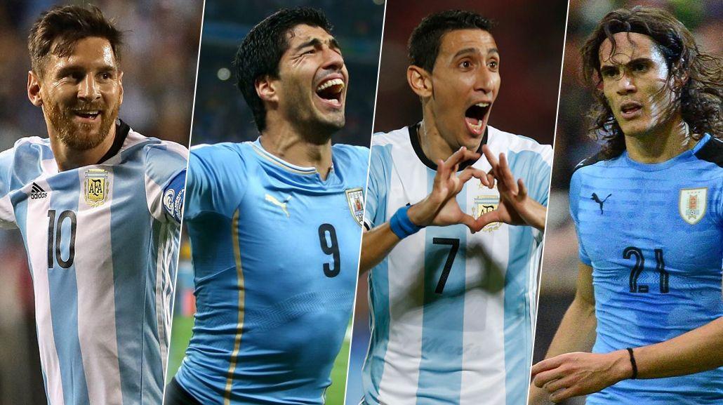 Paliza clásica: la Selección argentina vale € 200 M más que la de Uruguay