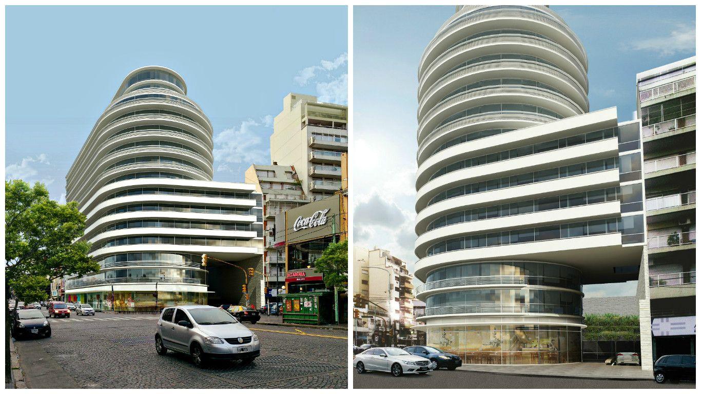 EvoqueOlazábal es el nombre del lujoso edificio proyectado.