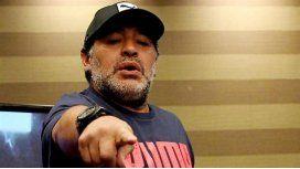 Maradona reiteró su intención de no pagar su deuda con el fisco de Italia.