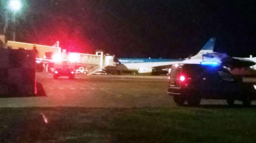 Un gracioso dijo que había una bomba en un avión que iba a Buenos Aires: fue detenido