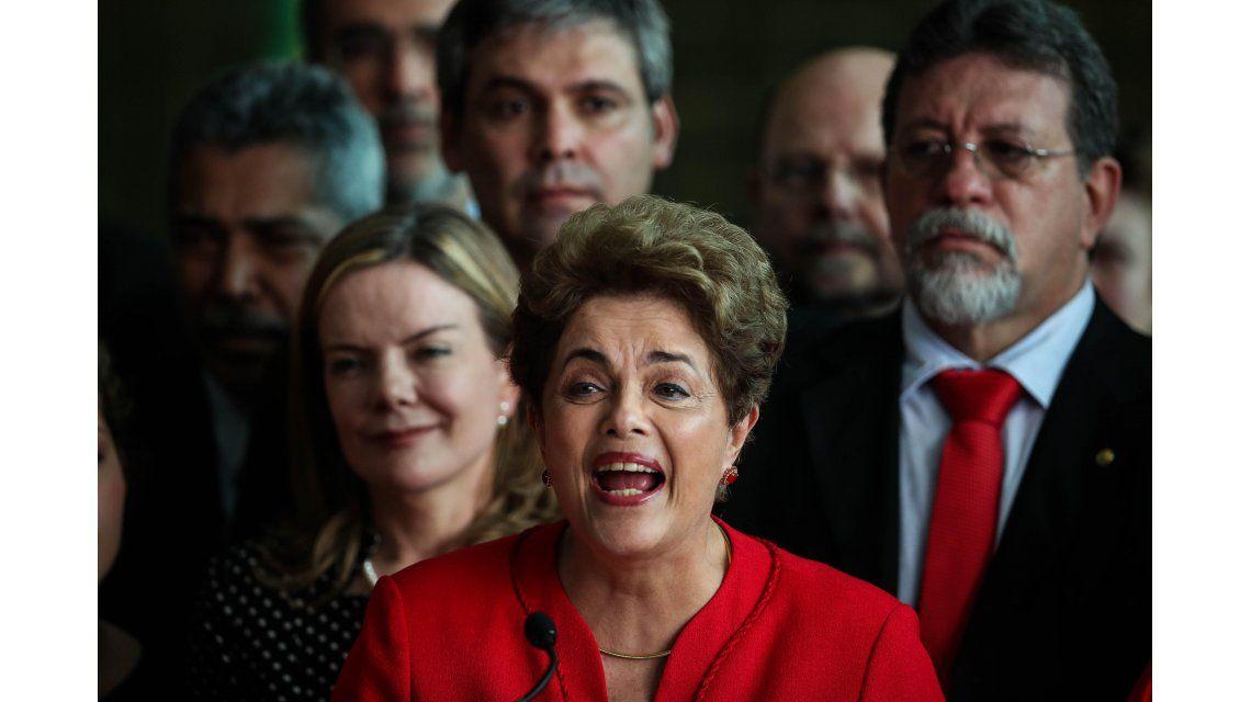 Dilma Rousseff: No digo adiós, digo hasta pronto
