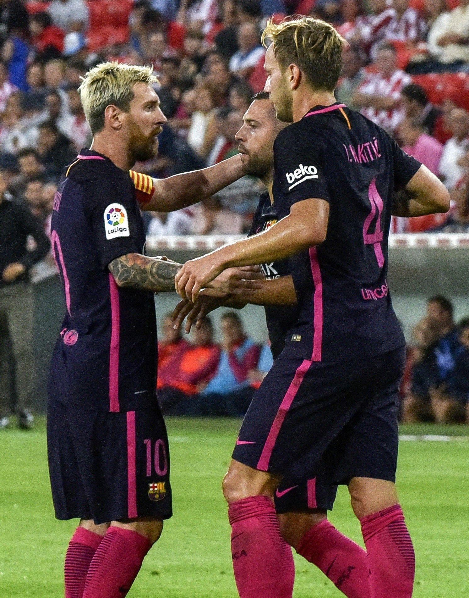 Con Messi de titular y Mascherano en el banco, Barcelona derrotó al Bilbao en San Mamés