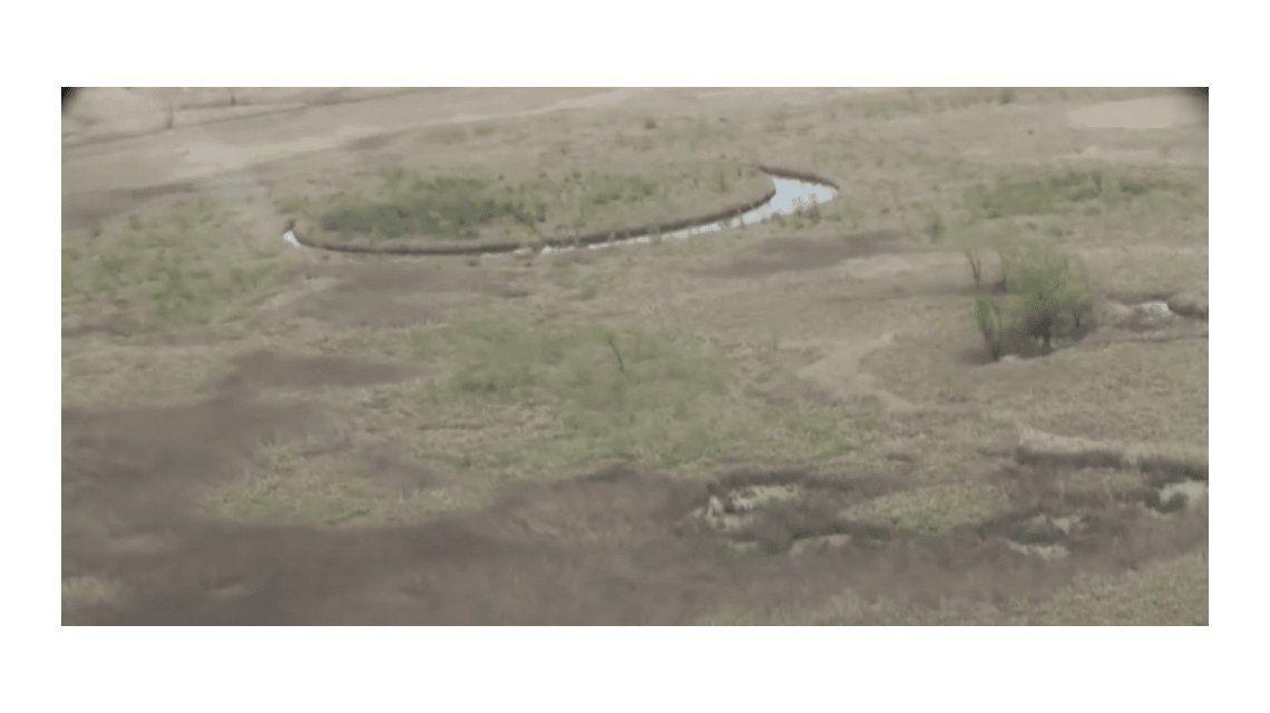 El Ojo, la misteriosa formación en el Delta que tiene intrigados a todos