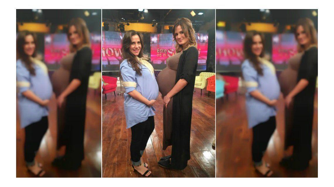 El divertido ida y vuelta entre Julieta Camaño y Paula Chaves en Este es el Show