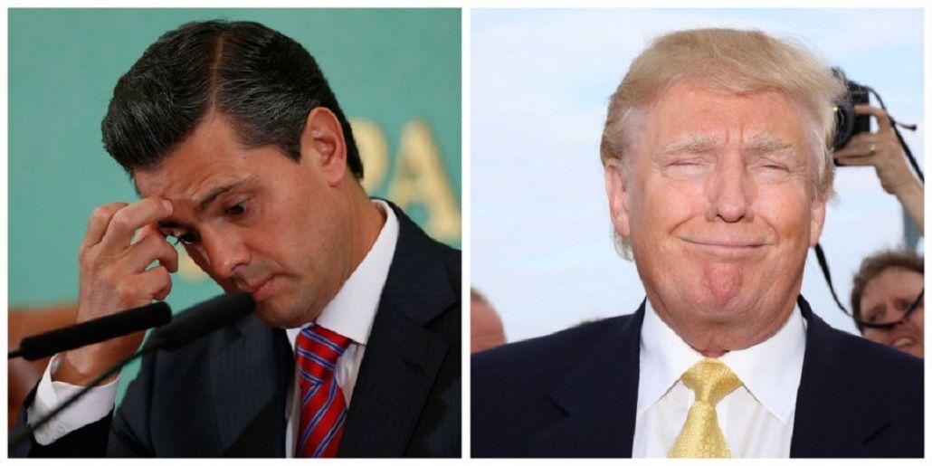 Donald Trump se reunirá con el presidente de México, Enrique Peña Nieto