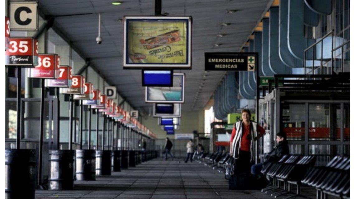 La UTA bloqueó la terminal de Retiro por reclamos de seguridad