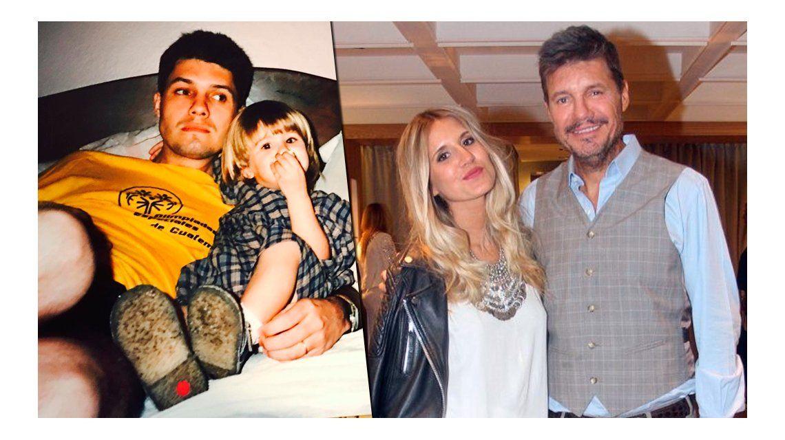 La foto retro de Marcelo Tinelli en el día del cumpleaños de su hija