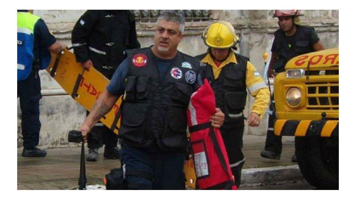 Entre Ríos: un bombero acudió a un choque sin saber que la víctima era su hijo