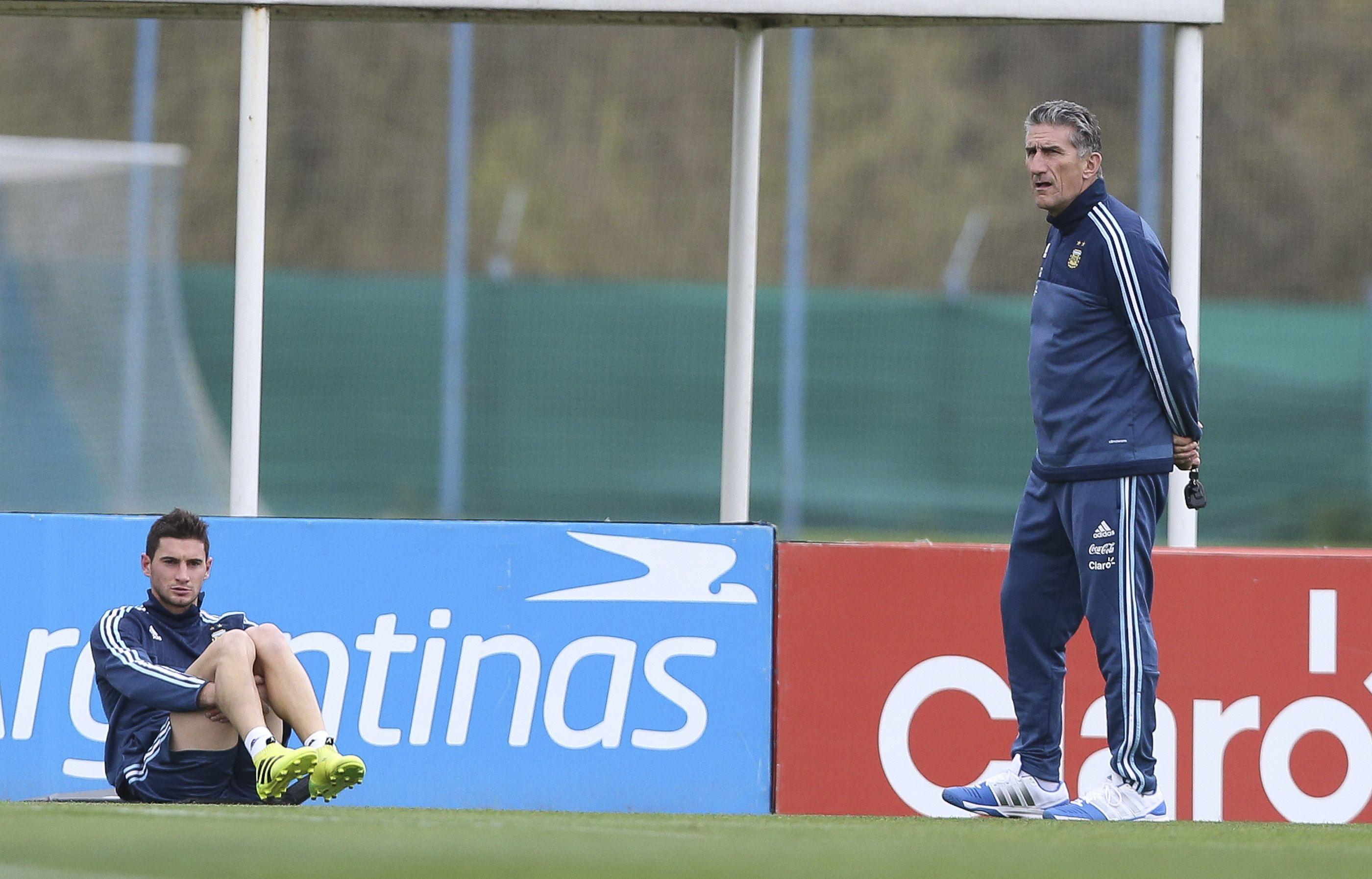 A la espera de Messi, así entrenaba la Selección del Patón Bauza