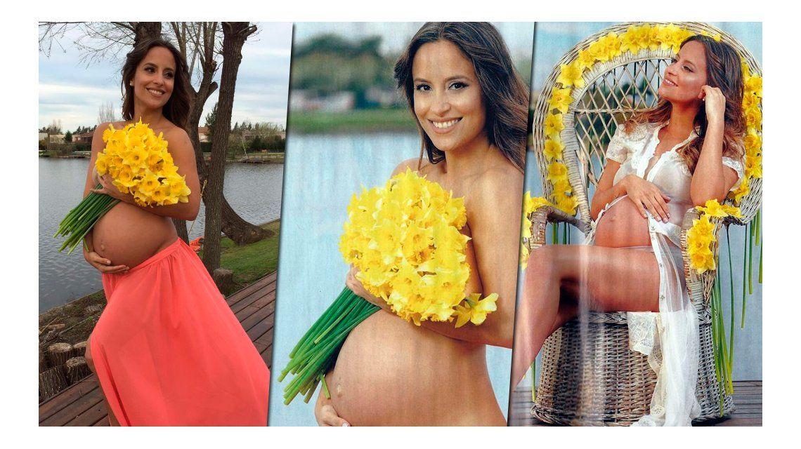 La producción sexy de Lourdes Sánchez, embarazada: ¿qué le molestó de la tapa?
