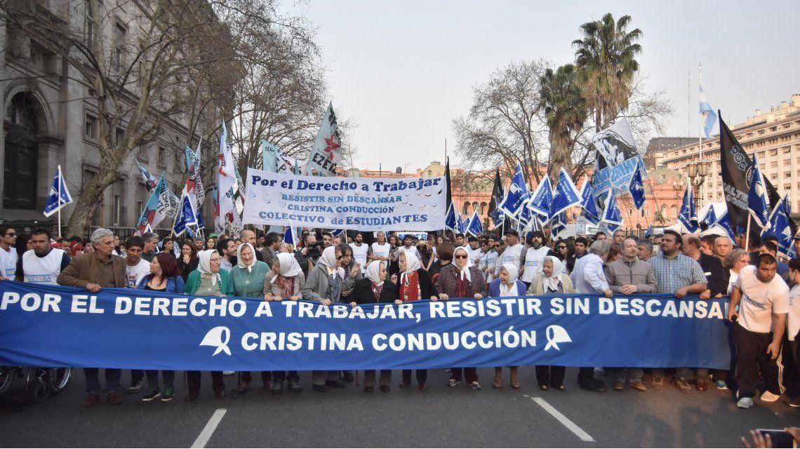 La marcha de la resistencia, en fotos