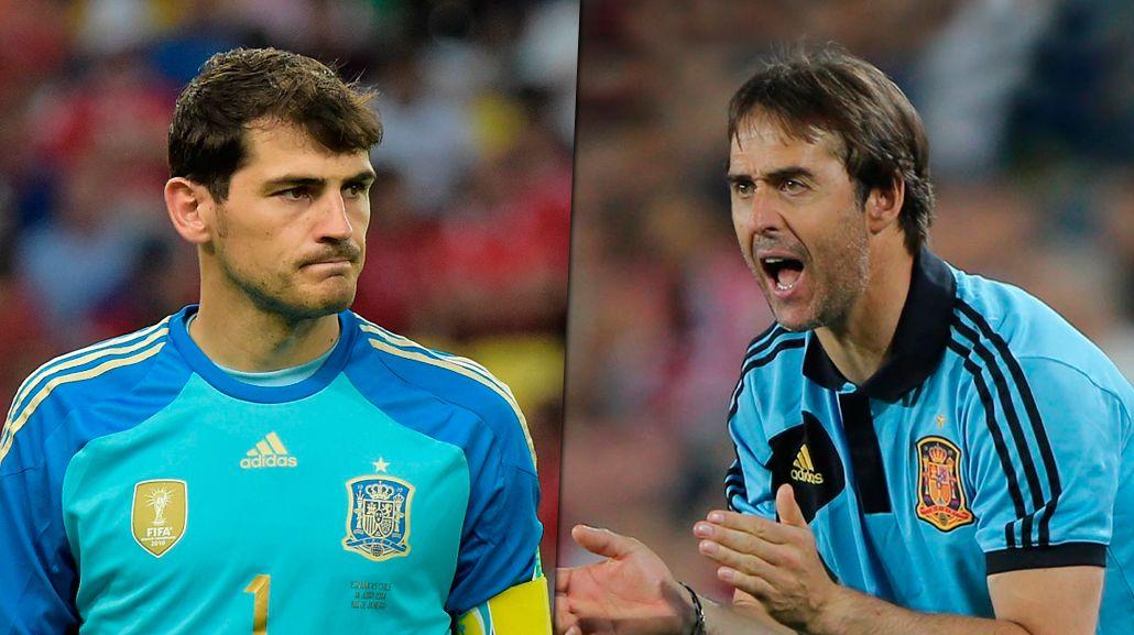España: Julen Lopetegui dejó fuera de su primera lista al histórico Iker Casillas