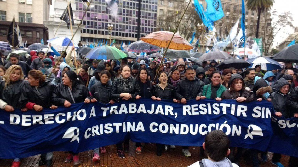 Después de 24 horas, terminó la marcha de la Resistencia de las Madres