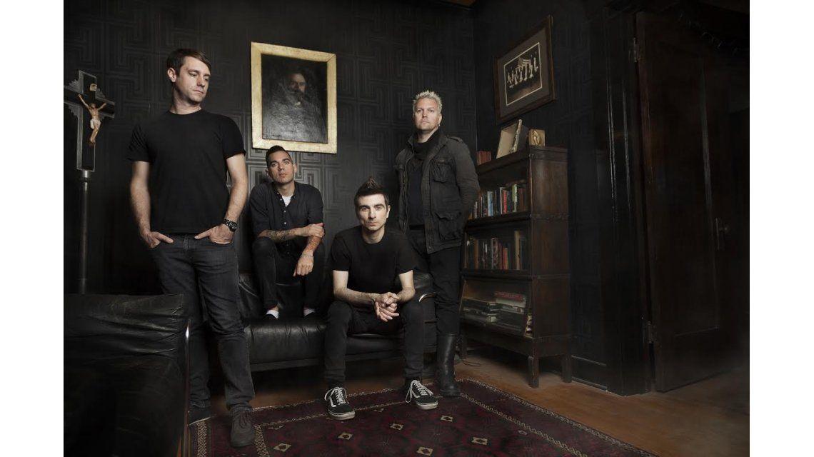 La banda de punk rock The Offspring llega al país