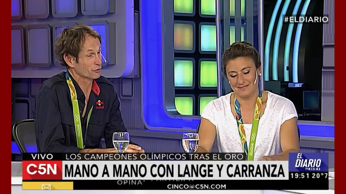 Lange y Carranza, en un mano a mano imperdible con Víctor Hugo en C5N