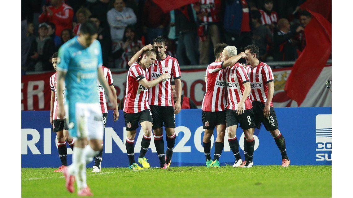 Copa Sudamericana: Estudiantes de La Plata le ganó a Belgrano