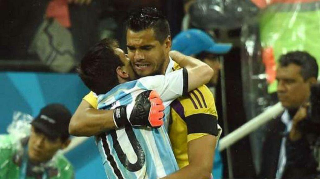 Chiquito Romero opinó sobre la Selección: Es mentira que juegan los amigos de Messi