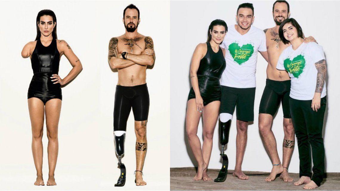 Vogue Brasil causó polémica con su campaña para los Juegos Paraolímpicos