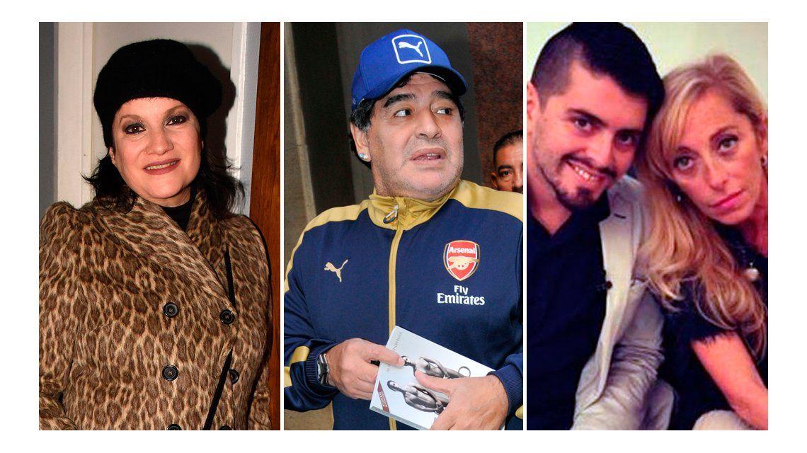 Lucía Galán: Maradona sabe que Diego Jr. es su hijo desde que Sinagra quedó embarazada