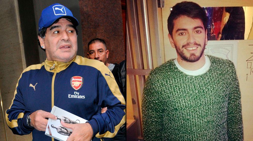 Maradona se encontró con Diego Jr.