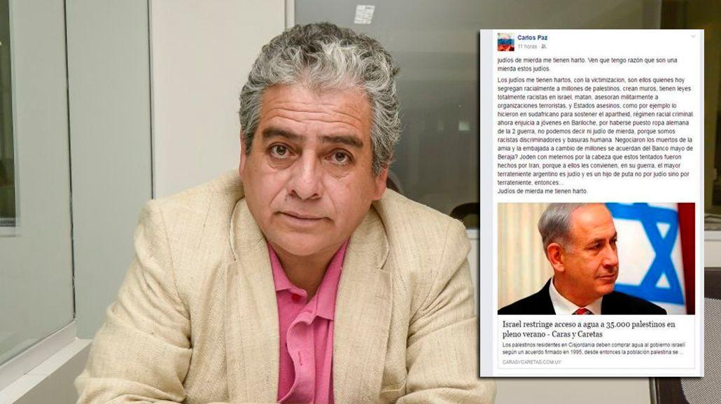 Polémica en Salta por declaraciones antisemitas de un funcionario: Judíos de m... me tienen harto