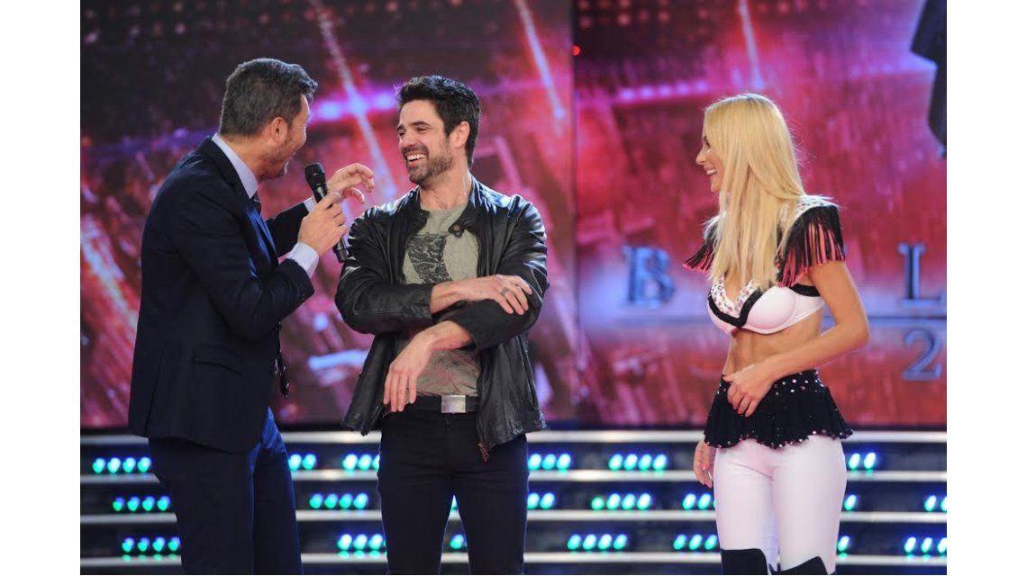 Luciano Castro, en ShowMatch: bailó cuarteto con Sabrina Rojas y mostró su lomazo