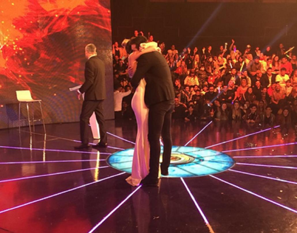 Yasmila fue la primera eliminada de Gran Hermano: fogoso reencuentro con Patricio