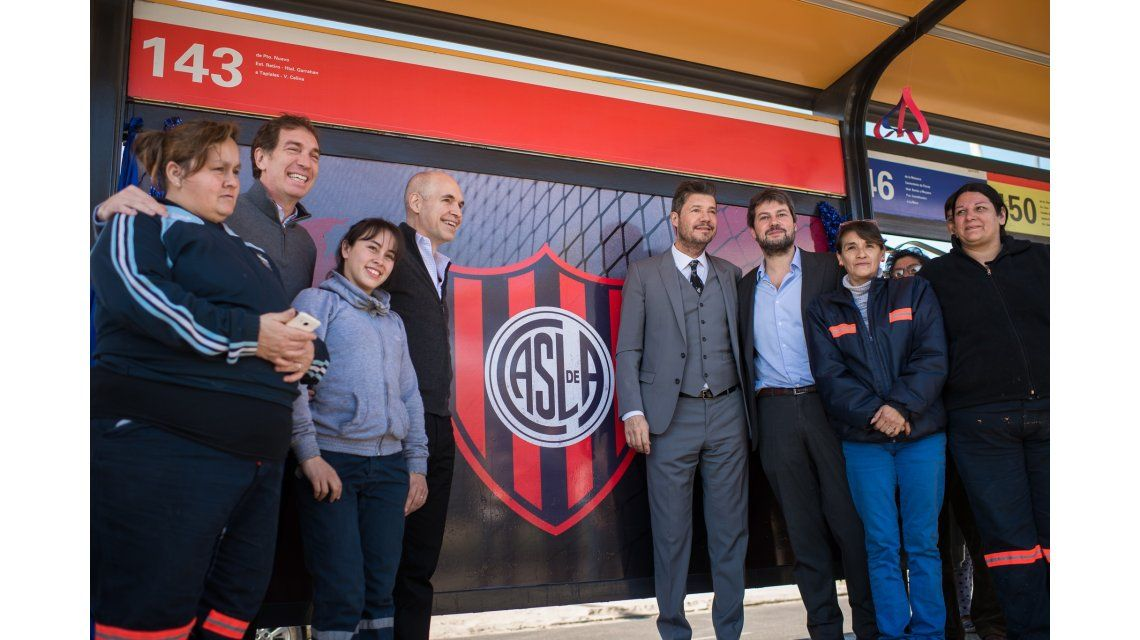 Vecinos bautizaron como San Lorenzo una estación del Metrobus Sur