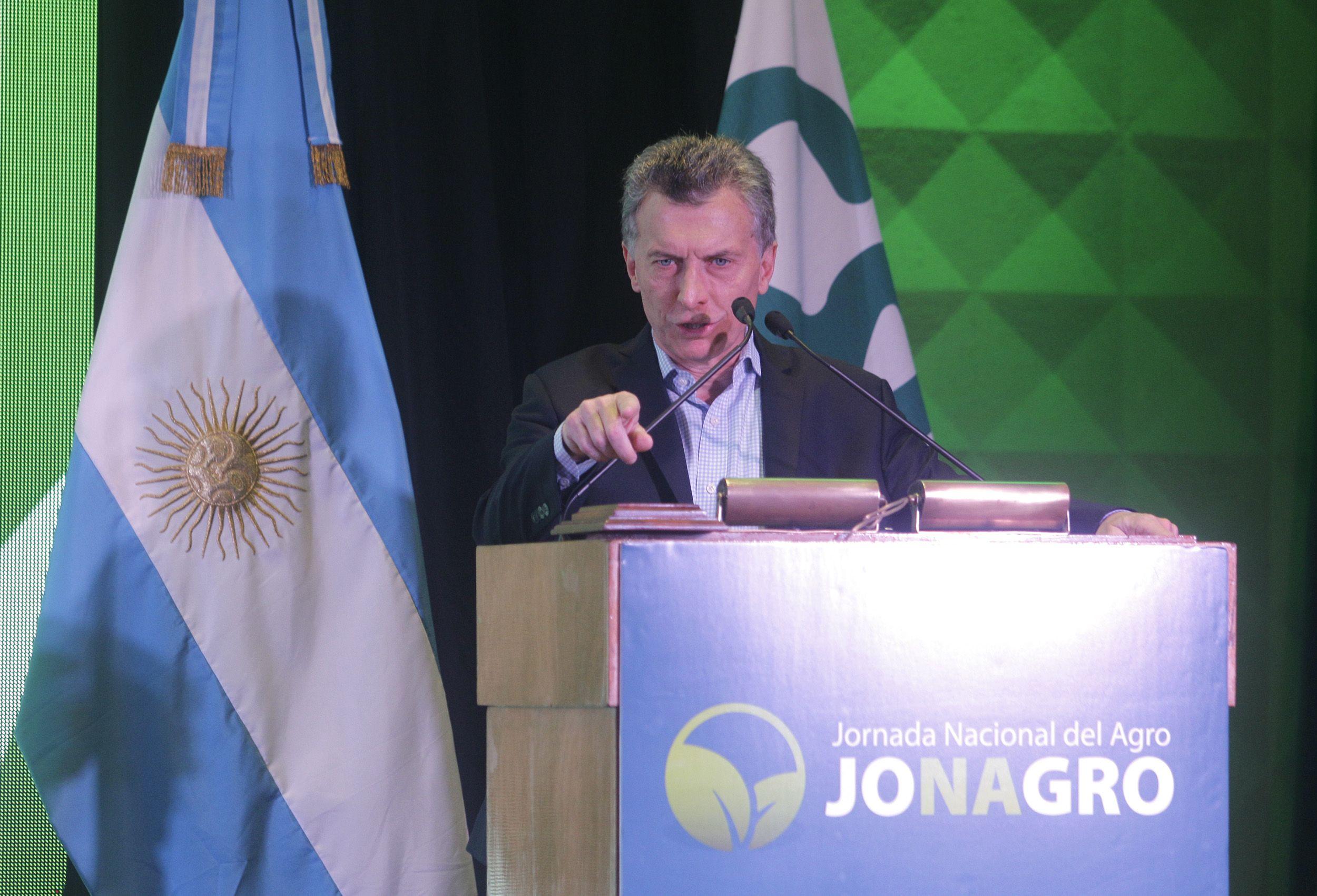 Macri habló de desocupación: Sólo el 40 por ciento tiene empleo en la Argentina