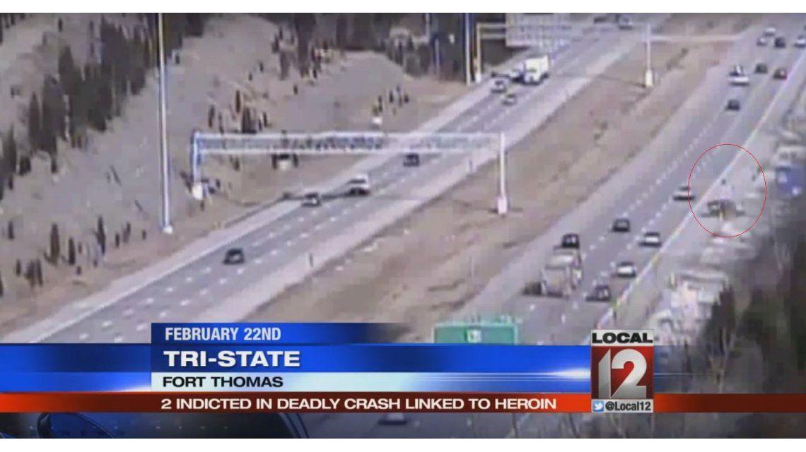 VIDEO: Un bebé sale volando cuando un hombre drogado choca en la autopista