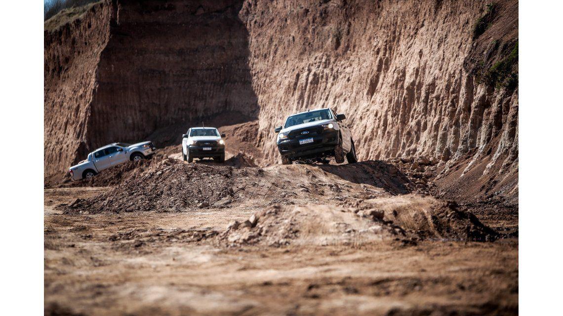 Experiencia Ranger en terrenos off road