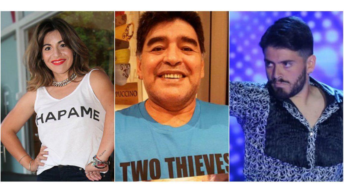 Gianinna Maradona: Quiero pedirle disculpas a Diego Jr. por haber creído una mentira de mi papá