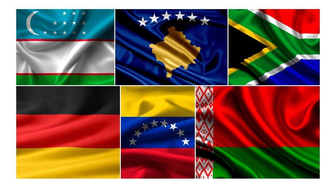 #TriviaM1: ¿Conocés las banderas del mundo?