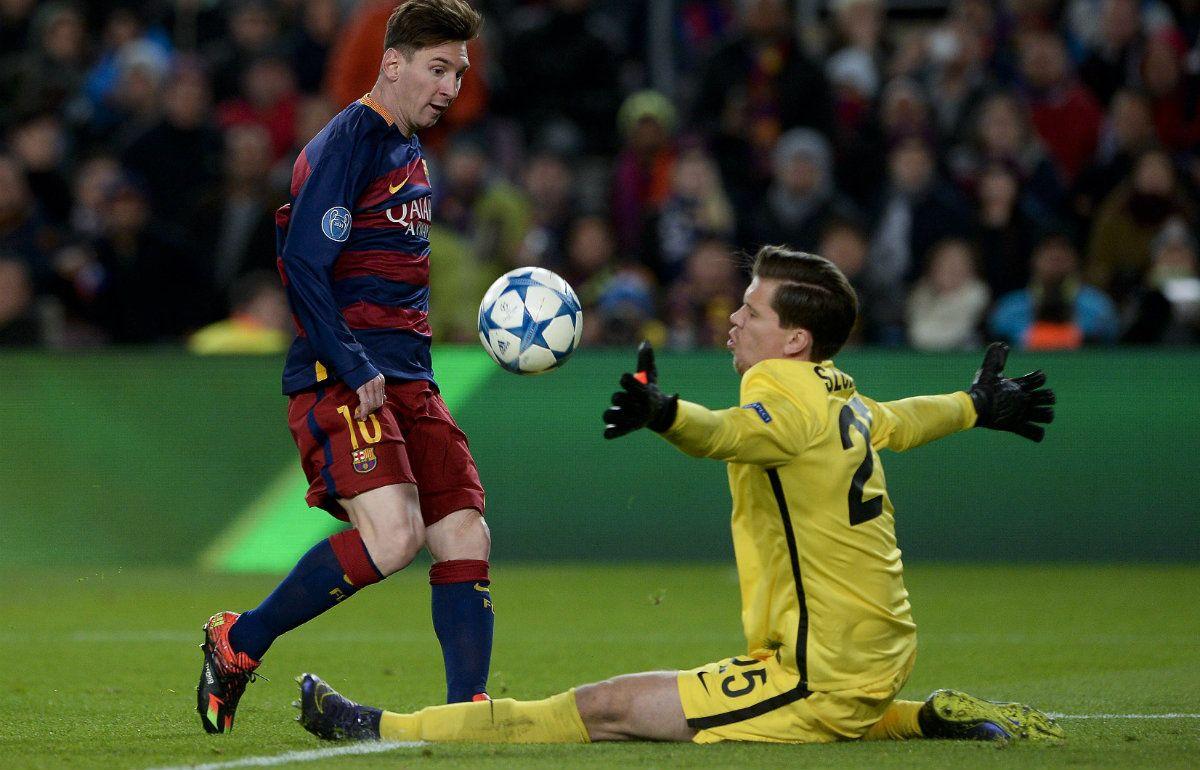 Un gol de Messi contra la Roma fue elegido como mejor gol de la temporada pasada