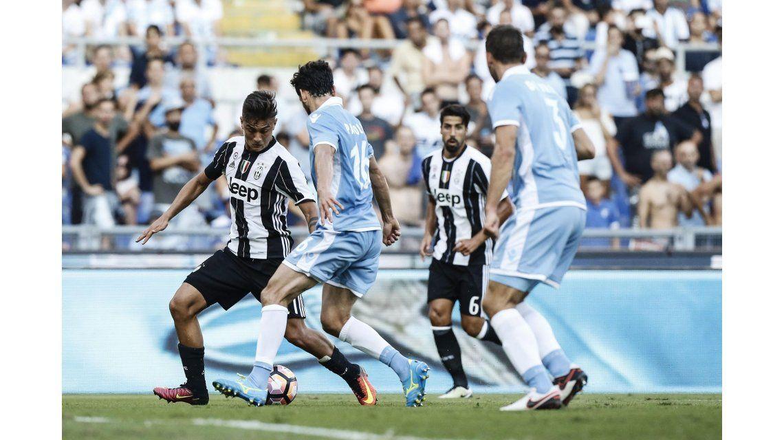 Sin mostrar su mejor nivel, Juventus venció a Lazio