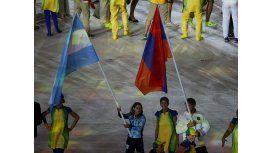 Paula Pareto, la abandera argentina en el cierre de los Juegos Olímpicos Río 2016