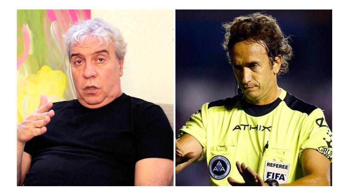 Picante entrevista de Coco Sily a un árbitro del fútbol argentino en Radio Pop