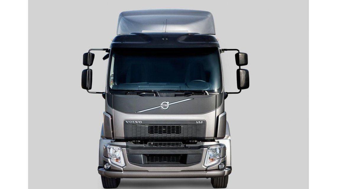 El camión con motor eficiente